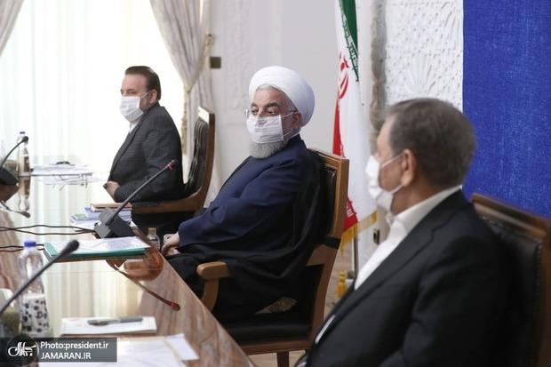 روحانی خواستار تعامل بیشتر مجلس با دولت شد