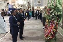 وزیر خارجه کنگو به آرمان های امام راحل ادای احترام کرد