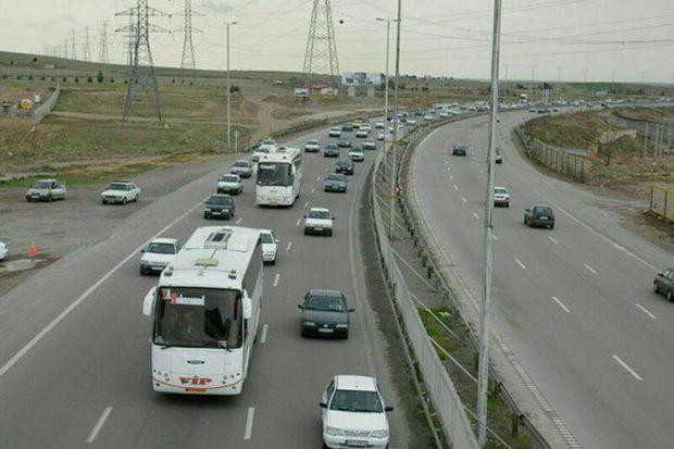 بیش از ۶۱ میلیون تردد در جاده های کرمانشاه ثبت شد
