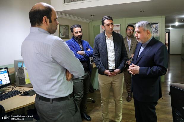 بازدید رئیس کمیته ملی المپیک از جماران