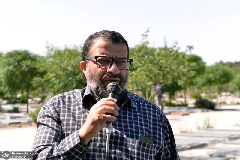 مراسم تشییع و خاکسپاری شهید سعید خلیلی