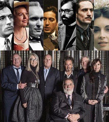 """بازیگران """"پدرخوانده"""" پس از 45 سال در کنارهم+ عکس"""