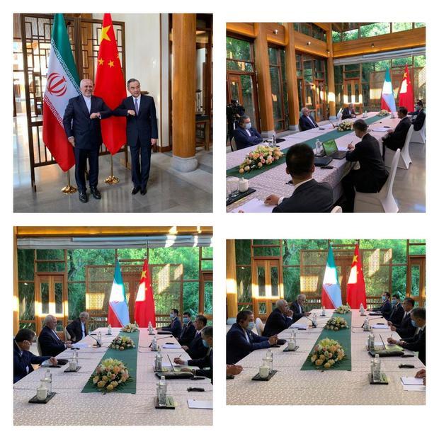 گفتگوی وزاری خارجه ایران و چین + عکس