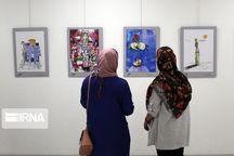 برپایی نمایشگاه آثار تجسمی «انقلاب اسلامی، روایت ایرانی» در زنجان