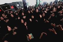 زنان ایلامی احیاگر سنت کهن تکیه گردی در روز تاسوعا