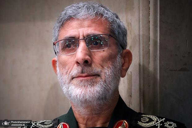 قدردانی سردار قاآنی از رزمندگان بدون مرز سپاه قدس