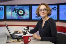 مهاجم، گلوی خبرنگار زن را برید+ تصاویر
