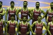 چهارمی ایران در پایان مسابقات 5 وزن نخست با یک کشتیگیر کمتر