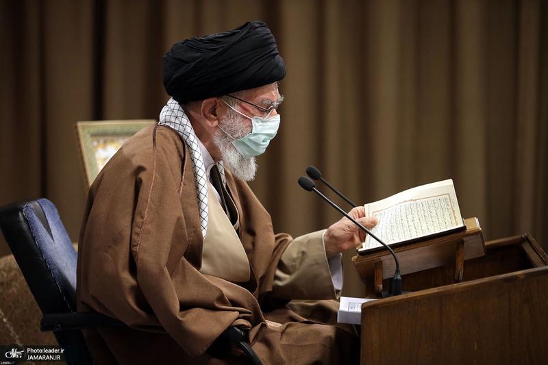 مراسم انس با قرآن با حضور رهبر معظم انقلاب