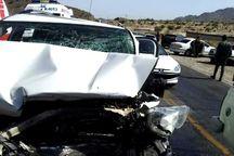 سانحه رانندگی در جیرفت یک کشته و ۲ زخمی برجا گذاشت