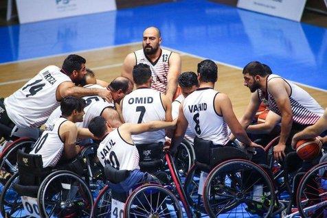 برد ارزشمند تیم ملی بسکتبال با ویلچر مقابل کرهجنوبی