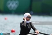 المپیک 2020 توکیو| مسابقه نازنین ملایی در نیمه نهایی روئینگ لغو شد