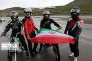 موتور سواری زنان در حاشیه مراسم روز قدس + تصاویر
