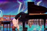 نوازندگی عجیب که داوران استعدادیابی را شگفتزده کرد+ ویدیو