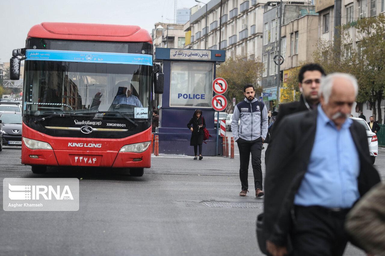 اتوبوسهای جدید به ناوگان حمل و نقل عمومی همدان اضافه شد