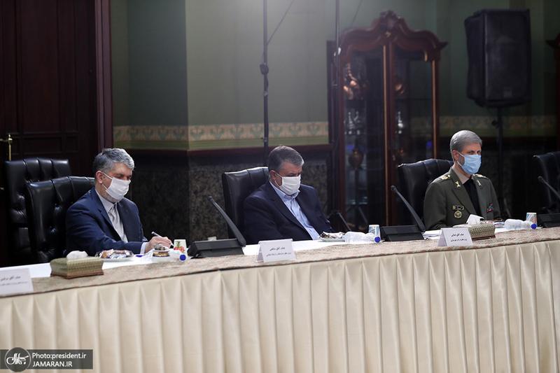 جلسه ستاد ملی مبارزه با کرونا- 29 شهریور