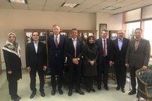 دیدار هیات انگلیسی با مقام های بانک مرکزی در مورد سازوکارمالی اروپا
