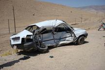 انحراف به چپ یک خودروی سواری درجاده زنجان سه کشته برجا گذاشت