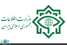 وزارت اطلاعات 5 تیم جاسوسی را دستگیر کرد