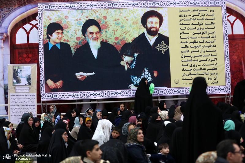 مراسم آغاز سال نو در حرم امام خمینی(س)
