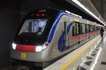 مترو خط 5 روز شنبه ساعت 4 و 45 دقیقه آغاز به کار می کند