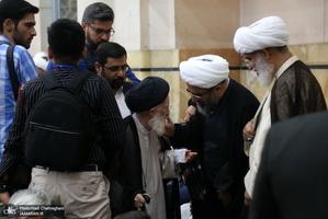 مراسم بزرگداشت آیت الله العظمی محقق کابلی در مسجد اعظم قم