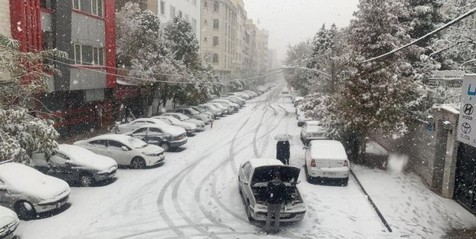 آمادگی تهران در مواجهه با بارش برف و باران
