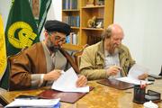 امضای تفاهمنامه همکاری بین آستان قدس رضوی و کمیته ملی موزههای ایران
