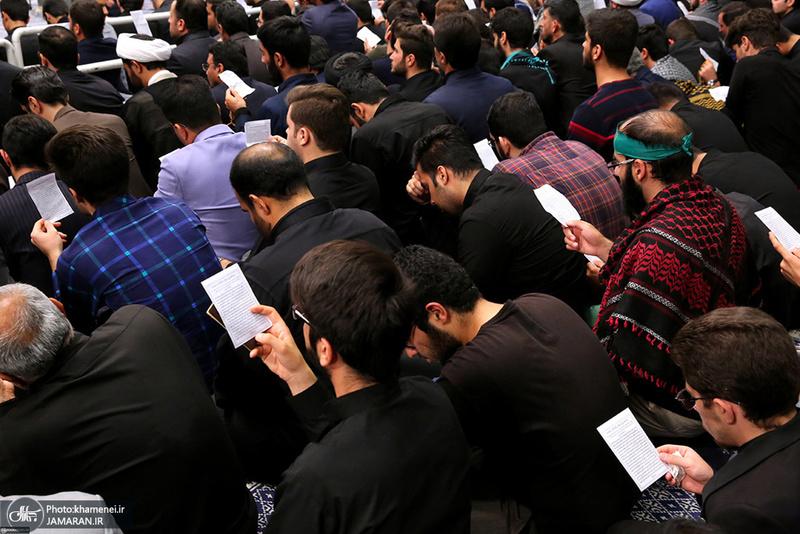 مراسم عزاداری اربعین حسینی با حضور هیئتهای دانشجویی در حسینیه امام خمینی