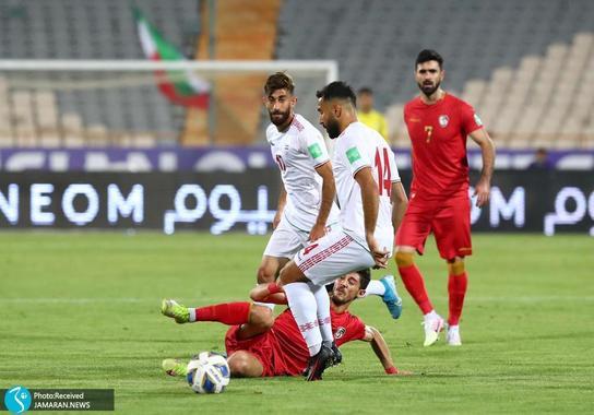 سامان قدوس علی قلی زاده ایران سوریه مقدماتی جام جهانی 2022