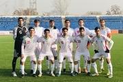 بُرد پرگل تیم ملی فوتبال نوجوانان مقابل تاجیکستان در دیداری دوستانه+ تصاویر