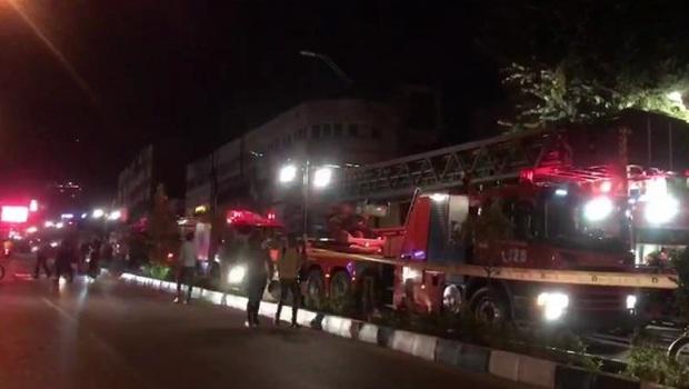 علت آتش سوزی در کلینیک سینا در شمال تهران چه بود؟