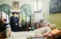 حضور رییسی در آسایشگاه جانبازان امام خمینی (ره) (1)