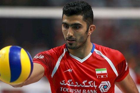 ماجرای تصویر دردناک ستاره والیبال ایران + عکس
