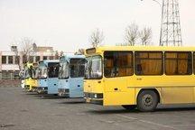 فعالیت اتوبوسرانی کرمانشاه با ۵۰ درصد ظرفیت ناوگان