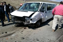 تصایف با خودرو گشت ارشاد 2 کشته برجا گذاشت