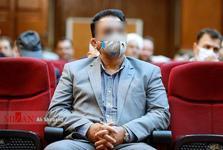 تصویر قاضی صادر کننده فیلترینگ تلگرام به عنوان متهم در دادگاه طبری