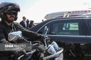 اسکورت موتوری پوتین در تهران