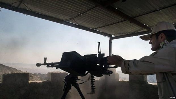 حمله گروهک تروریستی به برجک مرزی سراوان ناکام ماند