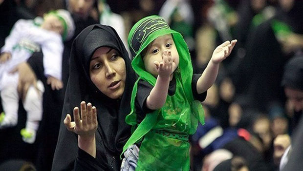 ۳۵ هزار لباس برای مراسم شیرخوارگان حسینی در حرم امام رضا (ع) دوخته شد