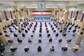 مراسم تنفیذ حکم سیزدهمین دوره ریاست جمهوری اسلامی ایران توسط رهبر انقلاب