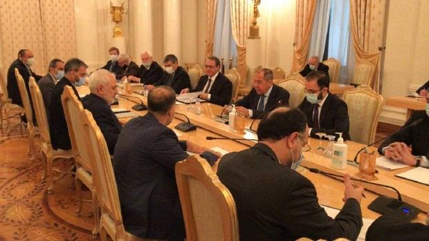 وزیر خارجه روسیه در دیدار با ظریف: نجات برجام یکی از مسائل فوری است