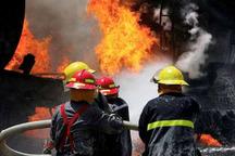 آتش سوزی انبار کارتون در زاهدان مهار شد