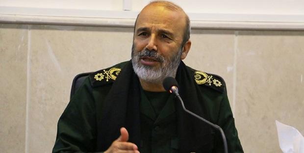 سردار فلاح زاده: گروههای مقاومت در کنار مقرهای رژیم صهیونیستی قرار دارند