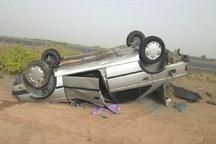 واژگونی پژو در جاده یاسوج به اصفهان جان 2 نفر را گرفت