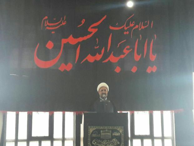 امام جمعه میامی:هیات های عزاداری مروج اهداف قیام کربلا باشند