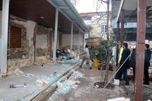 تخریب رستوران و سفرهخانه غیر مجاز در بولوار شهید چمران
