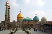 ۸۷۰۰ متر مربع عملیات عمرانی در امامزادگان کرمان انجام شد