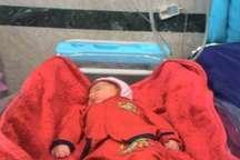 نوزاد پنج کیلو و 90 گرمی در بیمارستان حافظ شیراز متولد شد
