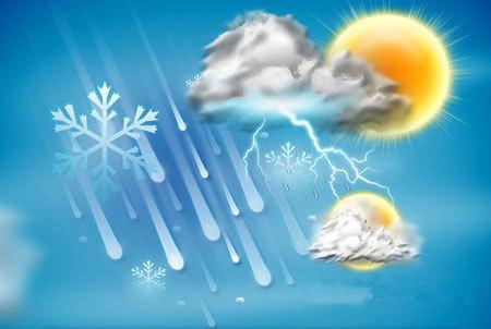 آخر هفته بارانی در استانهای شمالی